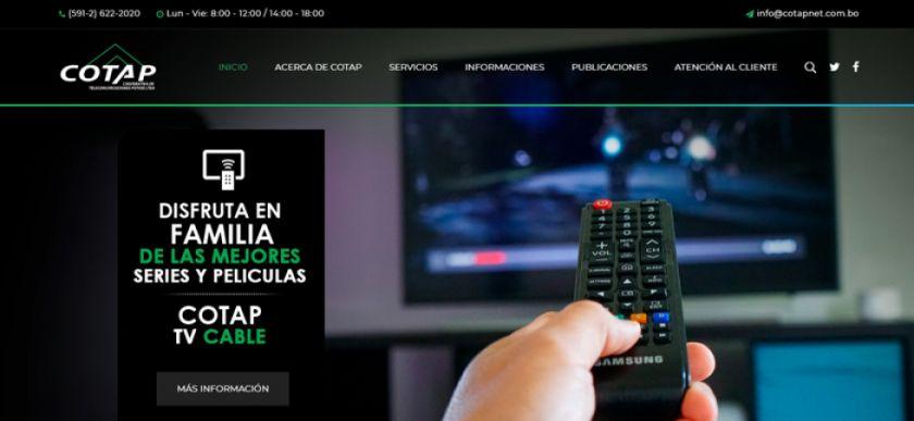 Cotap ofrecerá canales en alta definición en su grilla