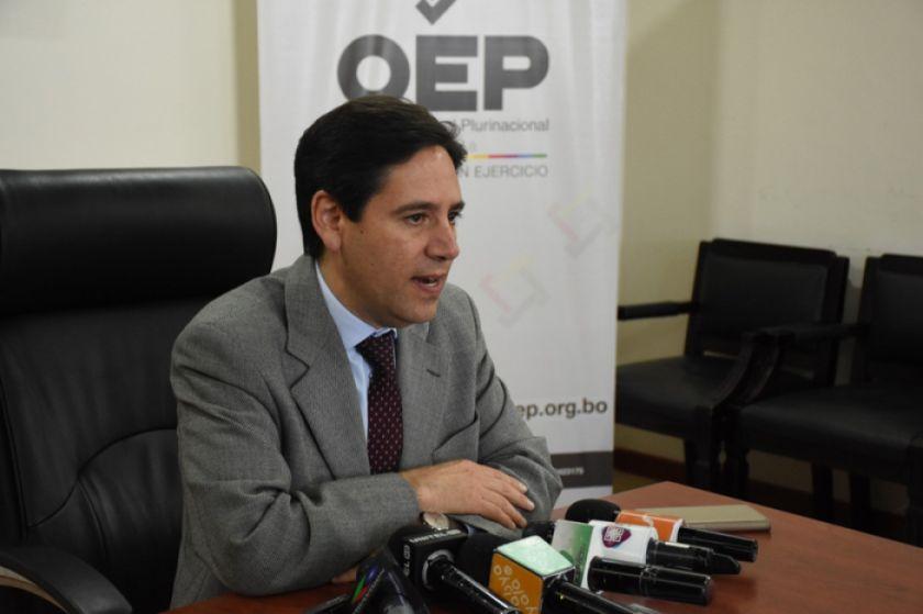 El TSE recepcionó cuatro alianzas para participar en los comicios de mayo