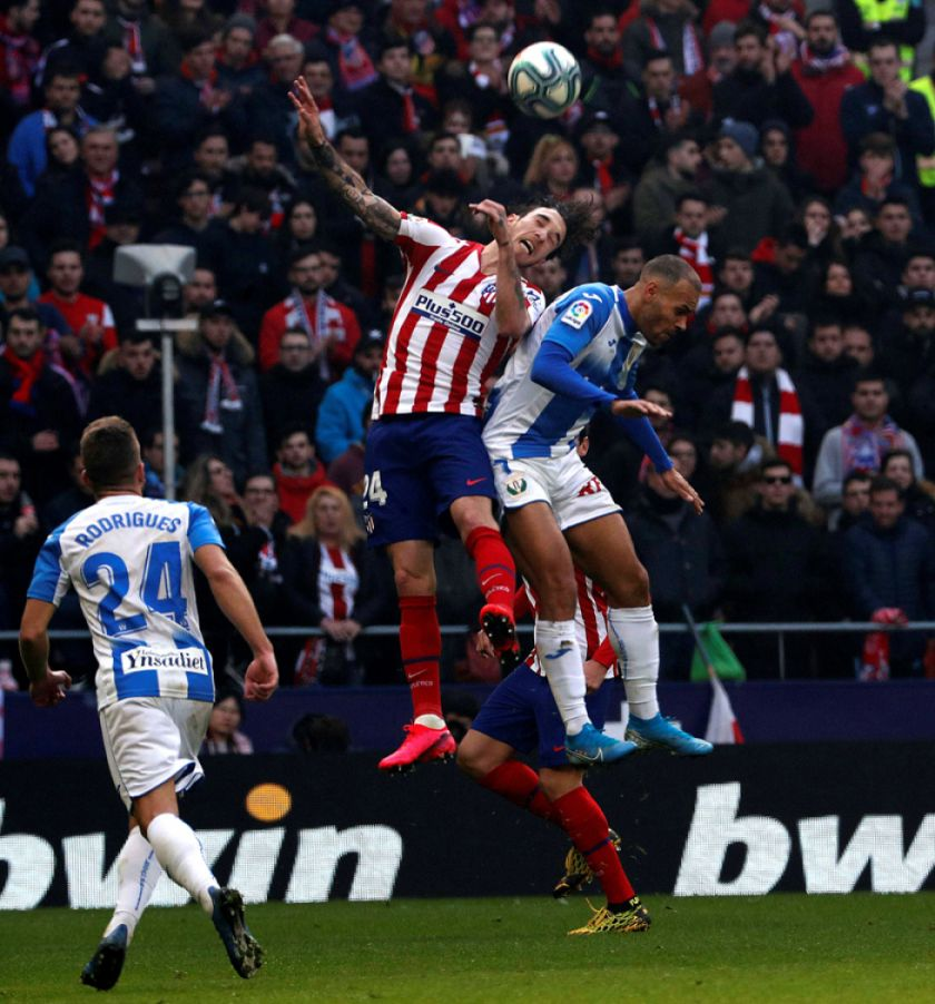 Atlético de Madrid empata sin goles ante el Leganés