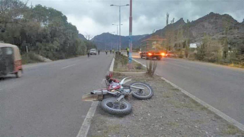Dos personas pierden la vida en accidentes de tránsito