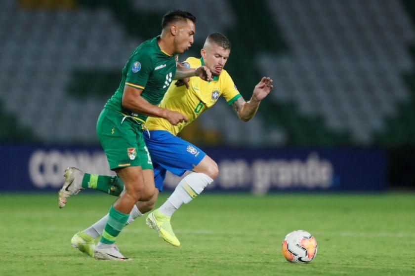 Bolivia cae luchando con Brasil en el Preolímpico