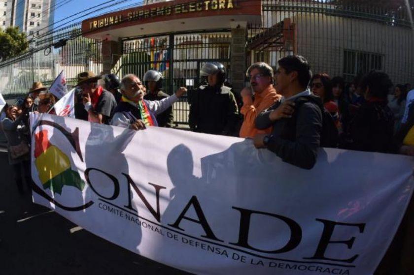 """El Conade convoca a una marcha por el """"respeto a la lucha del pueblo"""""""