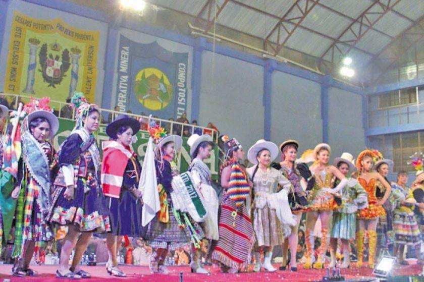 Hoy elegirán a la reina y la ñusta del Carnaval Minero