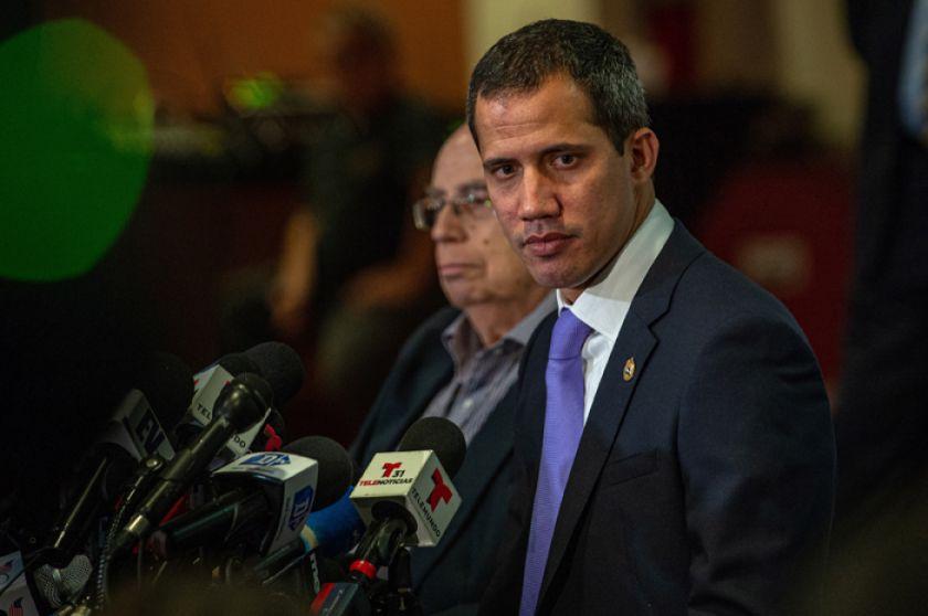 "Juan Guaidó habla de opciones para derrotar a la ""dictadura"""