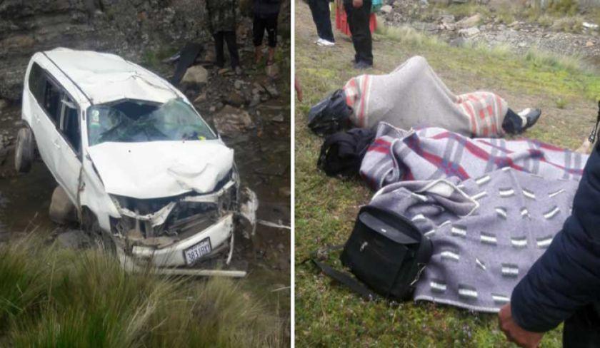 Fallecen tres profesores en un accidente de tránsito