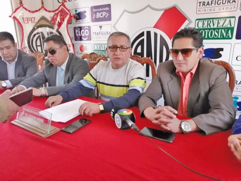 Dirigentes de Nacional respaldan trabajo de Campos