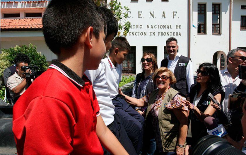 CIDH recibe testimonios de venezolanos