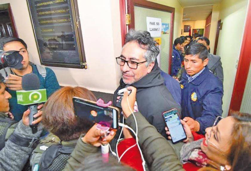 La Fiscalía anuncia que solicitará la detención preventiva de Torrico