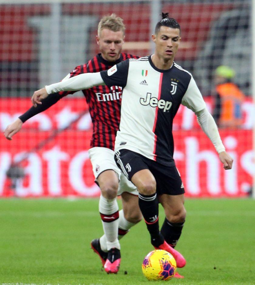 Juventus de Turín empata a Milan