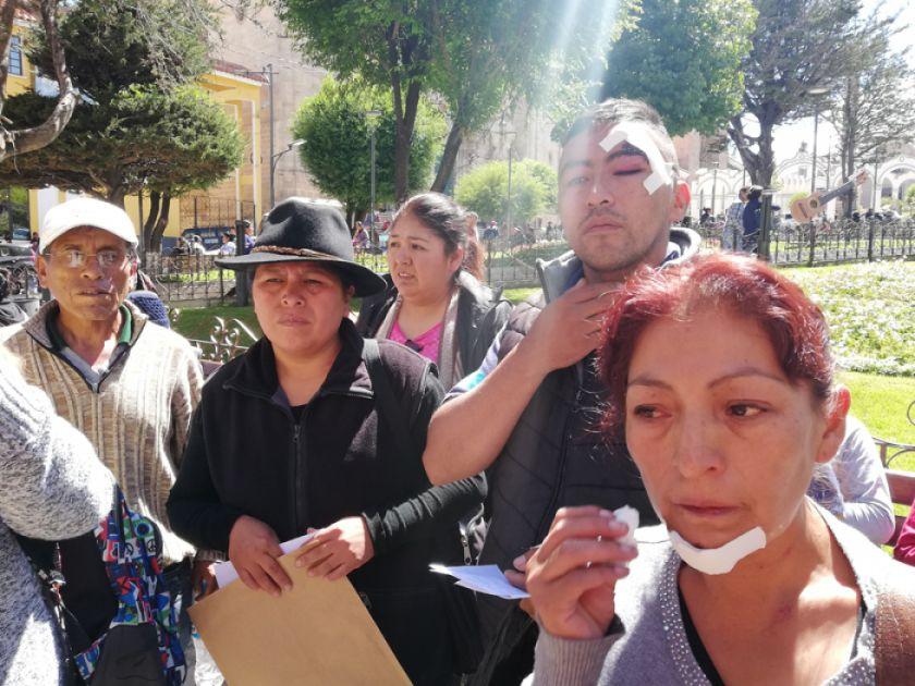 Heridos de Puna identifican a agresores y anuncian juicio