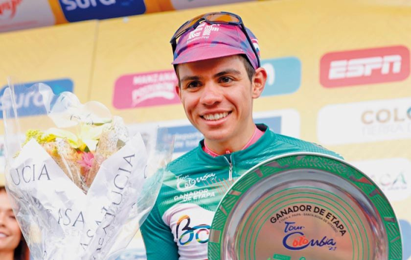 Higuita gana cuarta etapa de Colombia