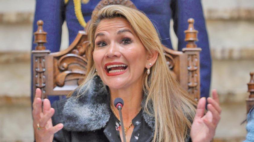 MAS afirma que interinato de Jeanine Añez es ilegal