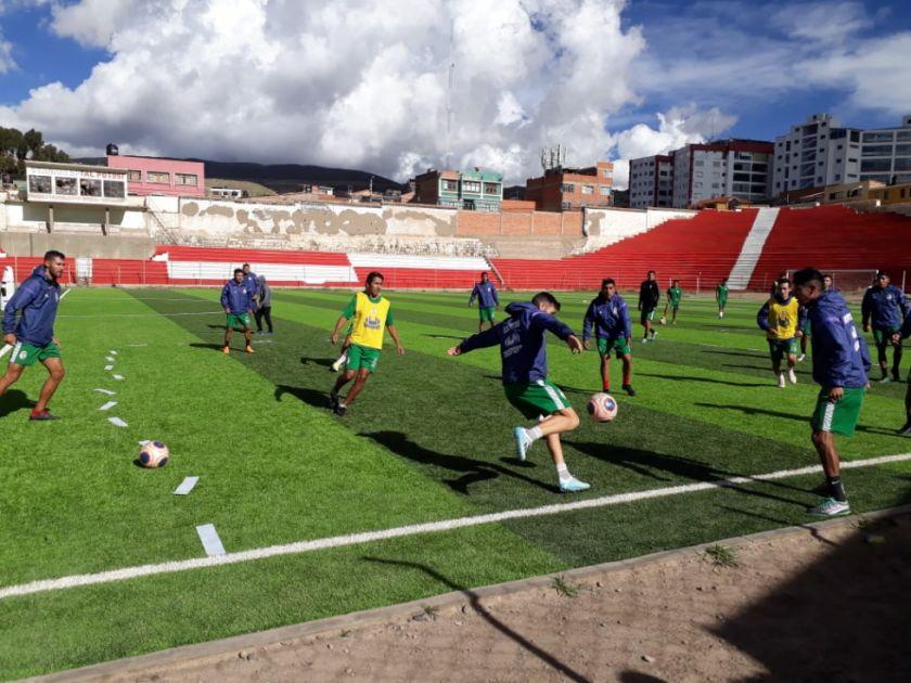 Real Potosí vuelve a sus entrenamientos desde hoy