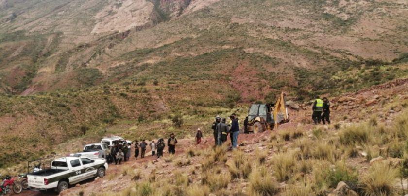 Vuelven a avasallar en  poblado de Palcamayu