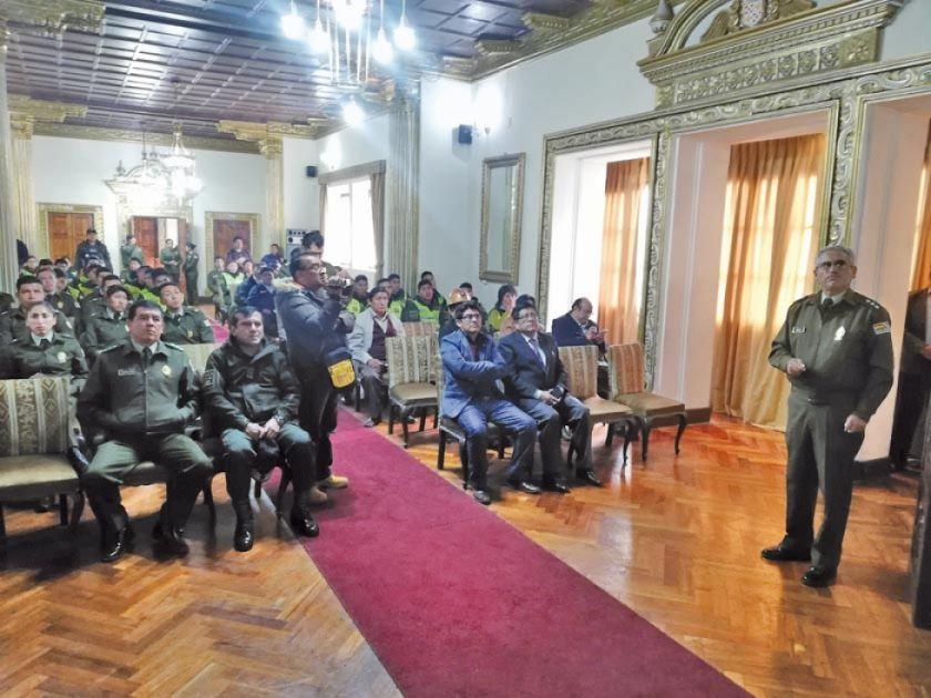 Policía destaca operativos de prevención y operación contra los delitos