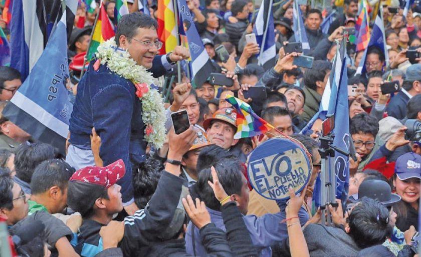 MAS se declara en emergencia por la habilitación de sus candidatos