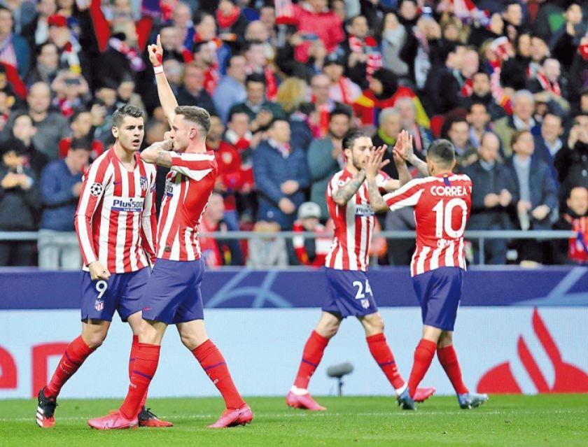 Atlético de Madrid somete a Liverpool