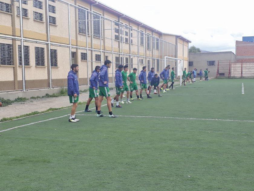 Ferrufino fortalece la parte física en Real Potosí