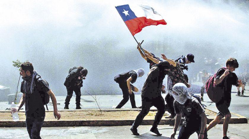 Chile detuvo a menores de edad en las protestas