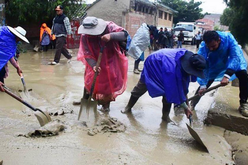 Sube a 10.727 la cifra de familias damnificadas por precipitaciones