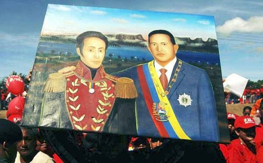 Y Chávez forjó a Bolívar