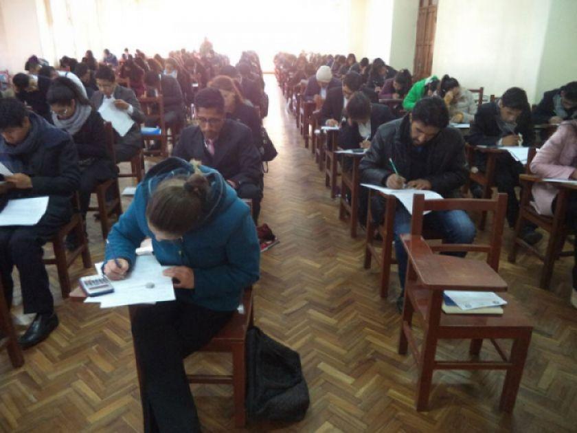 Confirman para el 28 de febrero el segundo examen en la UATF