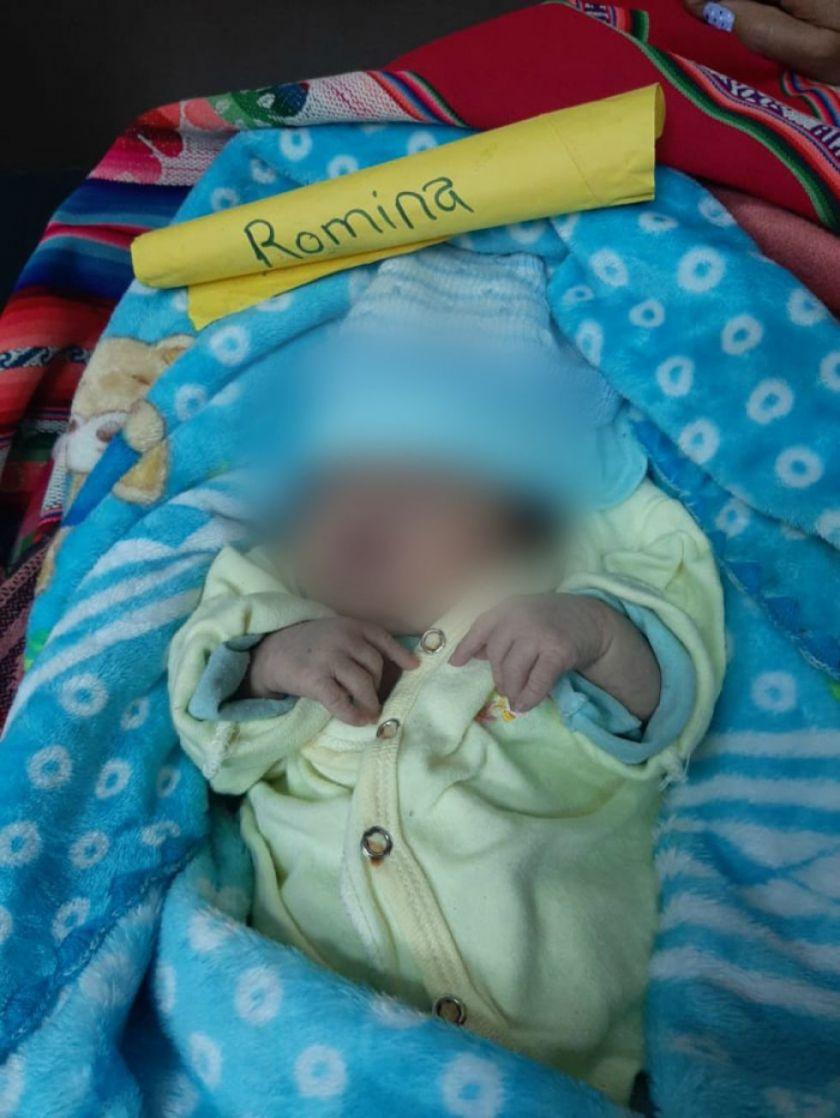 Recién nacida con Síndrome de Down fue abandonada en la vía