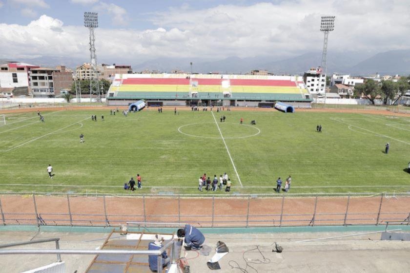 El estadio de Quillacollo albergará partidos del Apertura