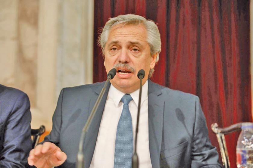 Fernández anuncia iniciativas sobre economía, aborto y justicia