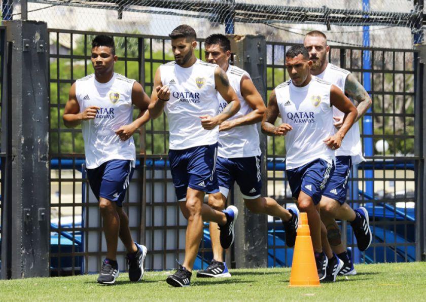 Boca debuta en la Copa contra Caracas