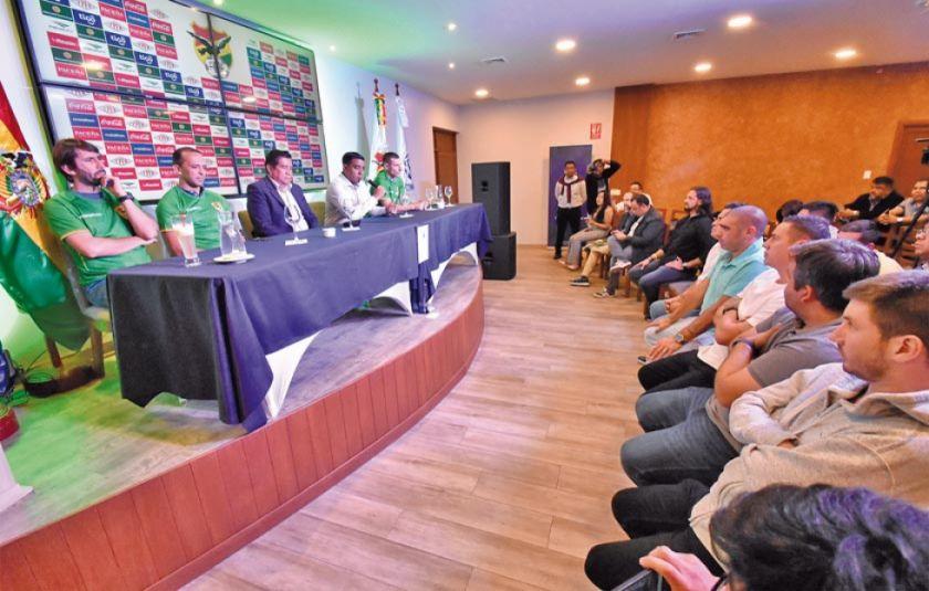 """Legionarios"" serán la base para enfrentar a Brasil"