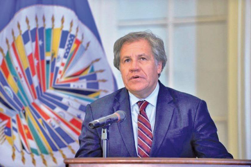 Luis Almagro celebra la aclaración del MIT sobre fraude electoral