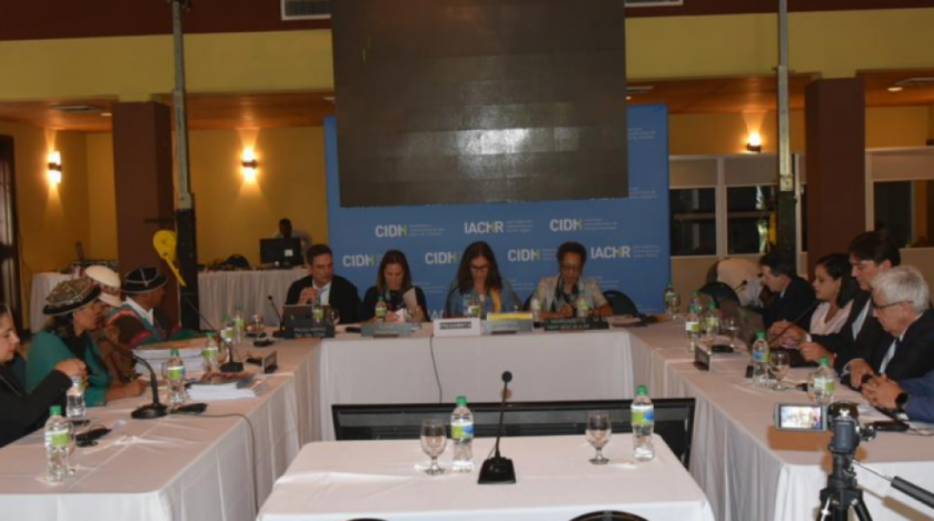 CIDH promete revisar situación de la nación Qhara Qhara tras oír a su representante