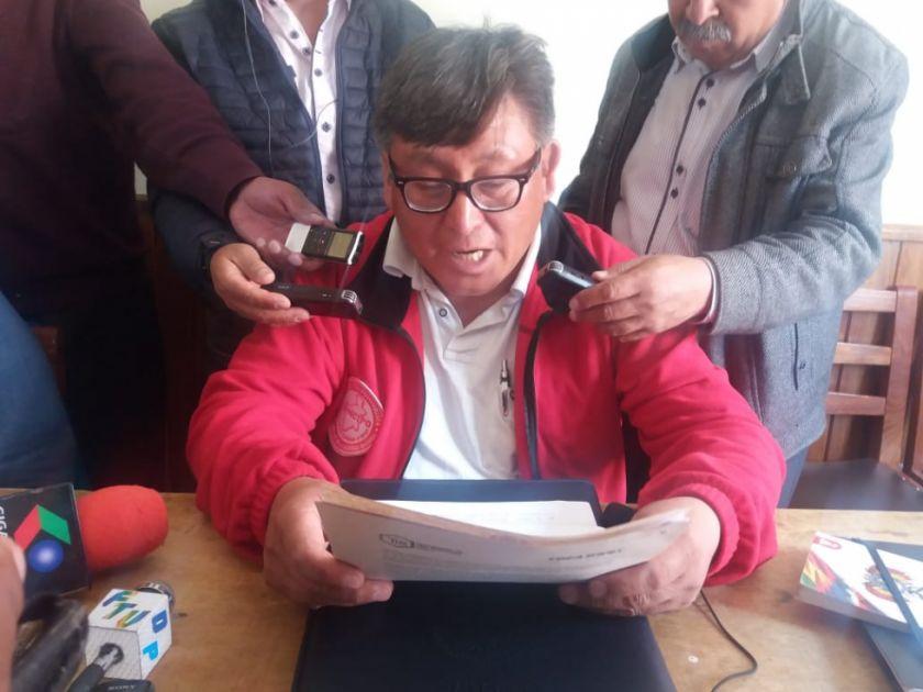 Se suspende reunión entre Comcipo y el Gobierno por emergencia del COVID-19