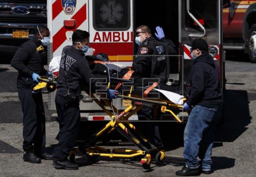 Nueva York supera los 37.000 casos de COVID-19 y fallecen 100 en un solo día
