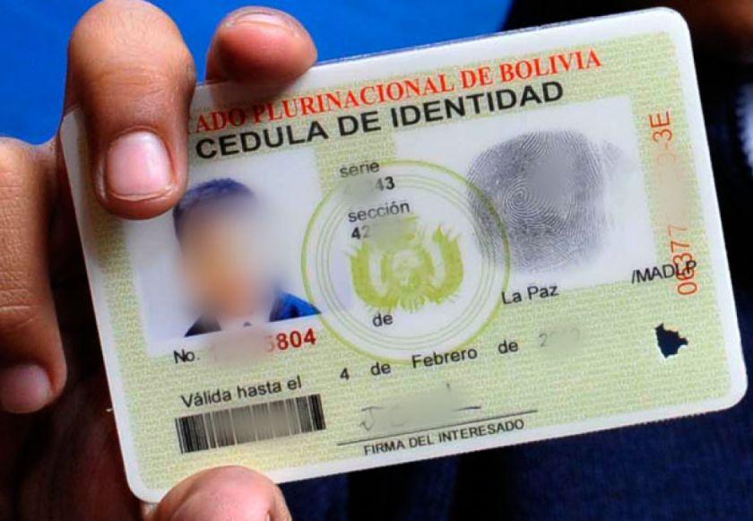 Decreto supremo amplía vigencia de documentos de identidad vencidos desde el año pasado