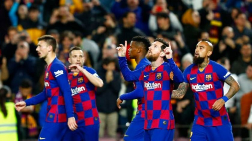El plantel del Barcelona se baja el sueldo en más de un 70%