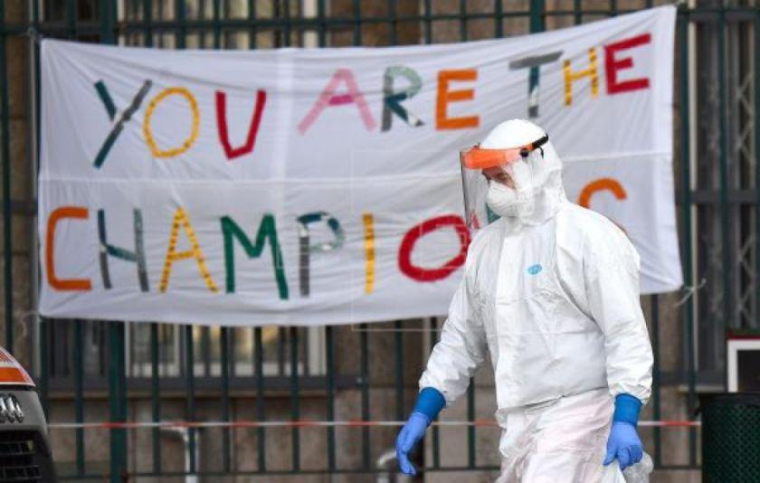 La pandemia se frena en China e Italia, pero se acelera a nivel global