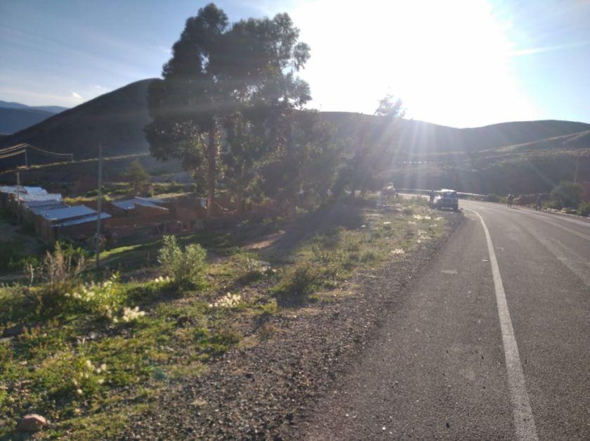 Potosino viajó a pie desde La Paz a Potosí