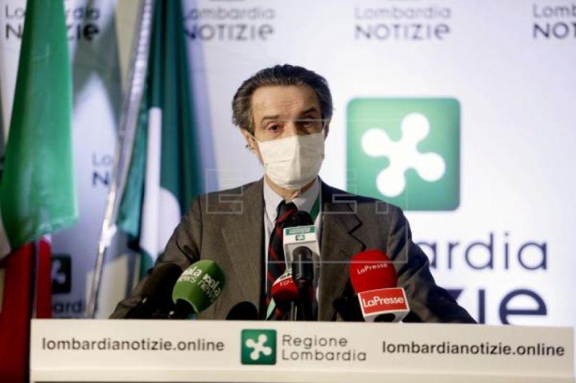 Lombardía multará con 400 euros a quienes no lleven mascarillas en la calle