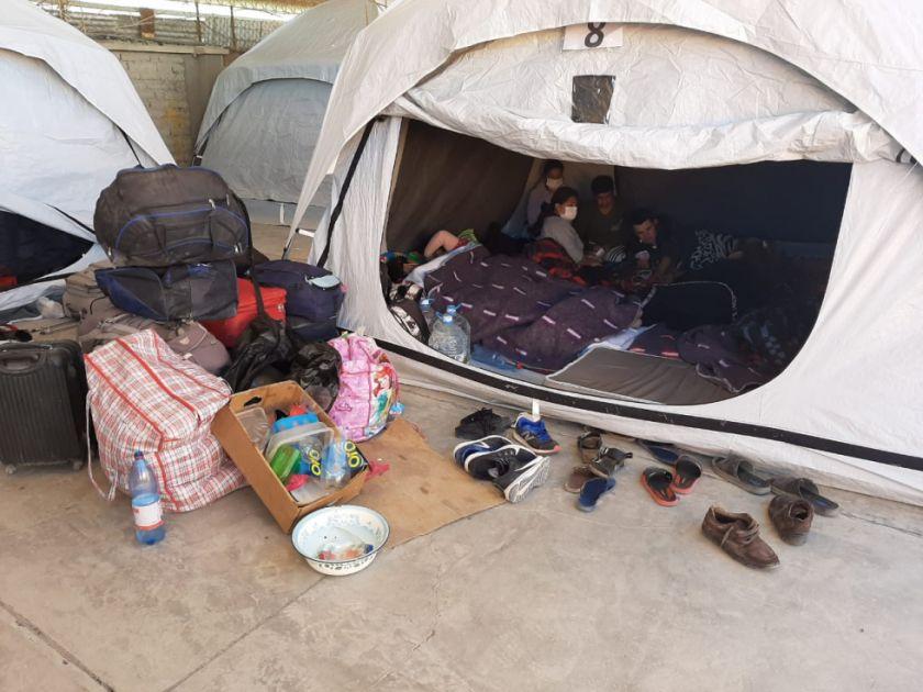 Revelan que repatriados sufren amenazas de expulsión a la frontera por pedir mejores condiciones en Pisiga