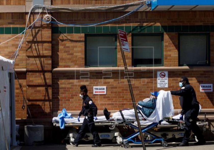 Nueva York ve señales de esperanza pese a su día con más muertes por COVID-19