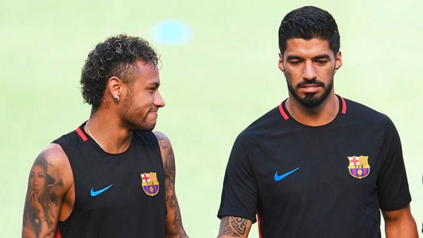 """""""Neymar siempre será bienvenido en el vestuario"""", dice Luis Suárez"""