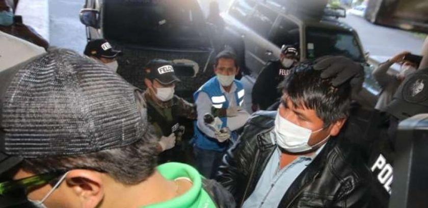 Faustino Yucra, el hombre que habló con Evo Morales de cercar ciudades ya está frente a la justicia