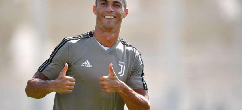 Cristiano Ronaldo se entrena en un estadio y genera polémica