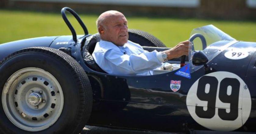 Falleció el británico Stirling Moss, una leyenda de la Fórmula 1