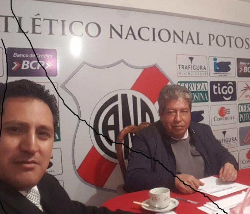 "Beltrán: ""Nosotros no reconocemos a Fabol"""