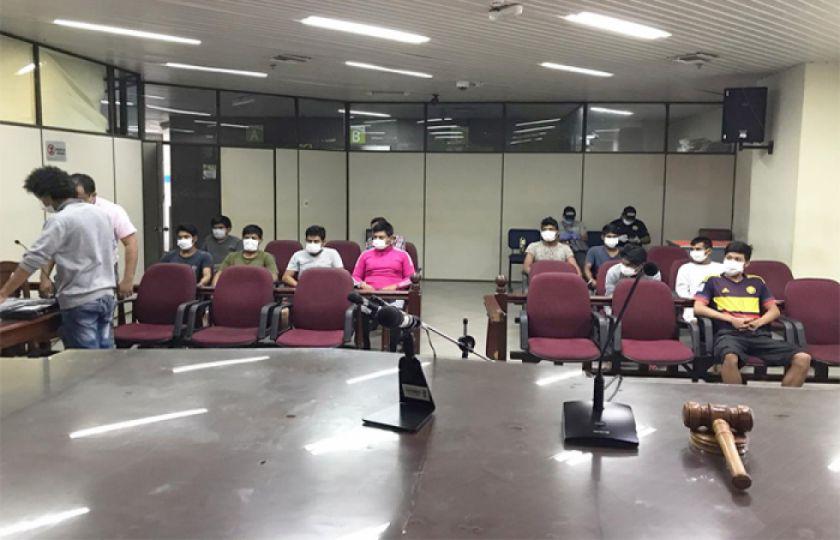 Santa Cruz: hay 36 personas sentenciadas por delitos contra la salud pública