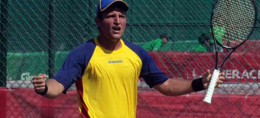 El tenista colombiano Nicolás Barrientos contrajo coronavirus