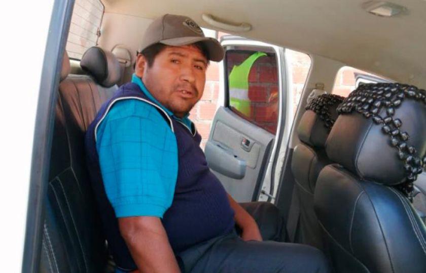 Ratifican detención de Faustino Yucra en el penal de San Pedro